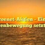Freenet-Aktien -  Eine Gegenbewegung setzt ein